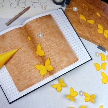 Кулинарный Мастер класс украшение бабочка 1