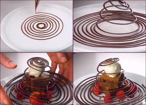 Шоколадная спираль 1