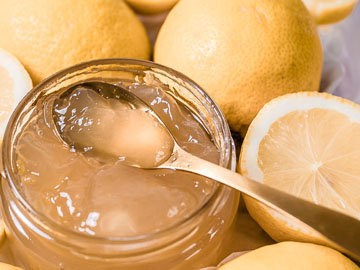 1. Лимонное желе