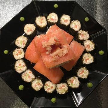 1. Суши с цветной капустой