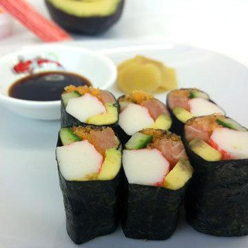 3. Суши... просто суши