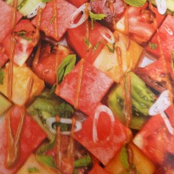 1a. Салат с арбузом и помидорами