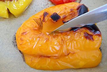 запечь перец в духовке 3