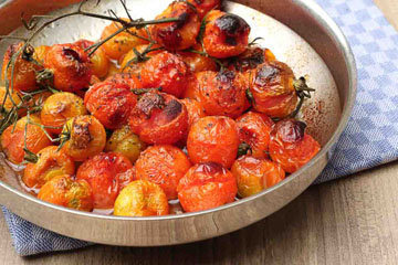соус из свежих помидоров в духовке