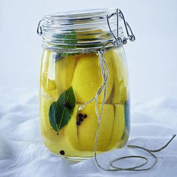 2. ферментированные соленые лимоны