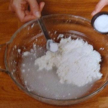 Как сделать сыр Burrata и Stracciatella. Шаг 16