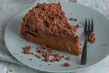 Лучший шоколадный творожный пирог 1