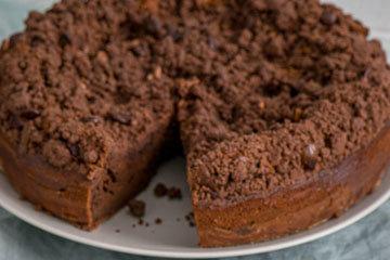 Лучший шоколадный творожный пирог