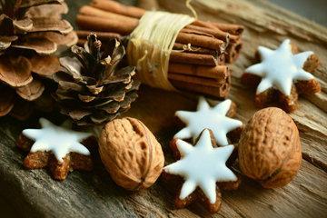 Ароматное печенье с корицей - символ Адвента и Рождества в Европе