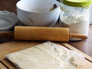 Быстрое слоеное тесто для пирога 4