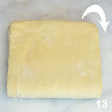 Мастер класс Перевернутое слоеное тесто для печенья Arlett 13