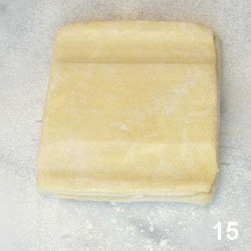 Мастер класс Перевернутое слоеное тесто для печенья Arlett 15