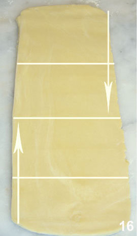 Мастер класс Перевернутое слоеное тесто для печенья Arlett 16