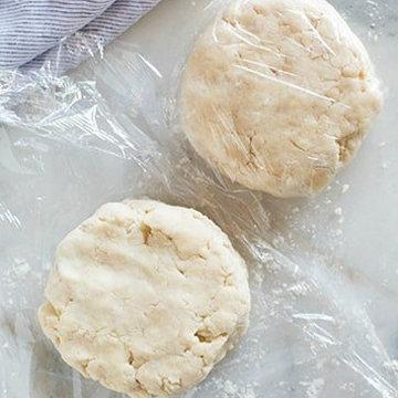 Песочное тесто для пирога без замеса 3