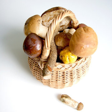 Вареники с грибами