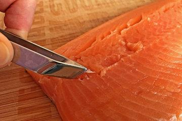 Как солить рыбу GRAVED LACHS и форель целиком 2