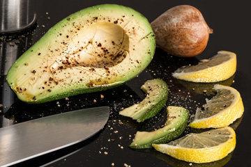 Авокадо на кухне