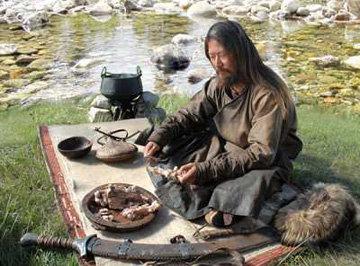 Блюда на костре. Монгольская кухня
