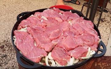 Мясо на костре 5