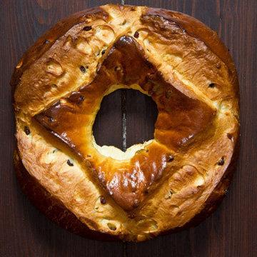 Пасхальный хлеб La Fouace Aveyronnaise