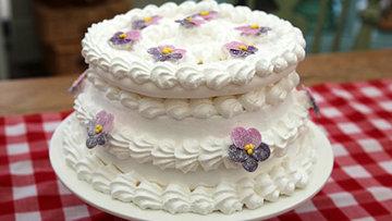 Торт Испанский ветер из кулинарного шоу Лучший пекарь Британии