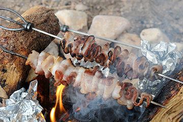 поджарить сало или бекон