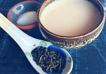с чая начинали монголы обед