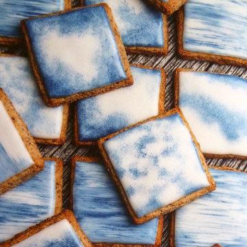 Быстрое ореховое печенье Какое небо голубое 1