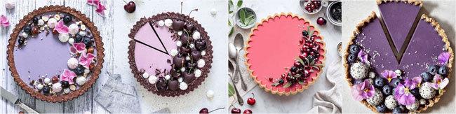 Используйте для украшения ягоды, фрукты, съедобные цветы и безе 2