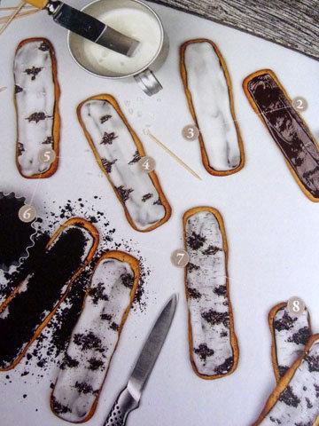 Как украсить ванильное печенье 1