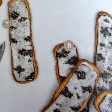Как украсить ванильное печенье 5