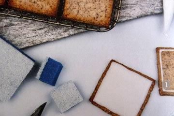 Как украсить ореховое печенье 1