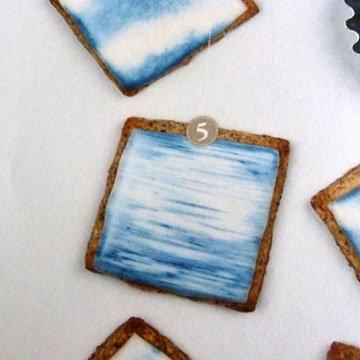Как украсить ореховое печенье 3