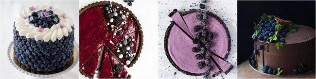 Украсить выпечку ягодами 3