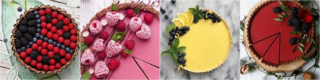 Украсить выпечку ягодами 4