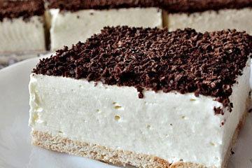 торт без выпечки аля Птичье молоко