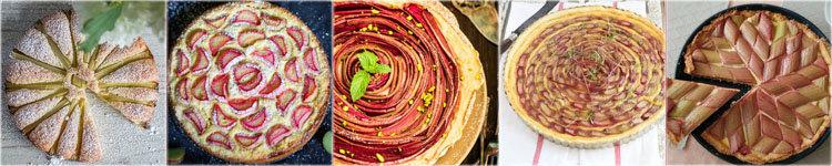 Как испечь вкусный пирог с ревенем 1