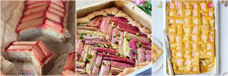 Как испечь вкусный пирог с ревенем 2