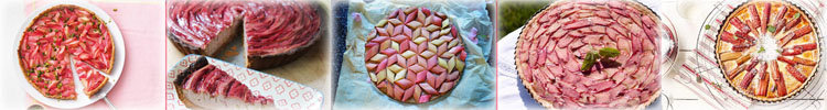 Как испечь вкусный пирог с ревенем 4