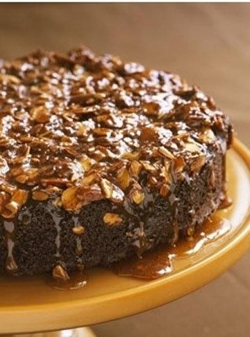 Gale Gand. Шоколадно-миндальный торт