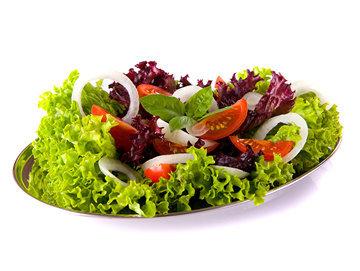 Oвощные и фруктовые салаты