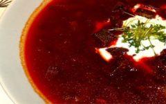 Как приготовить борщ - рецепт с фрикадельками