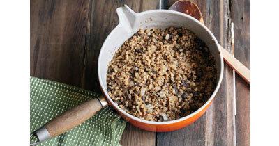 Рецепт гречневой каши с печенью