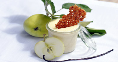 Мусс яблочный из сырых яблок