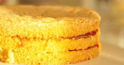 Рецепты для похудения. Бисквитный пирог - рецепт без жира