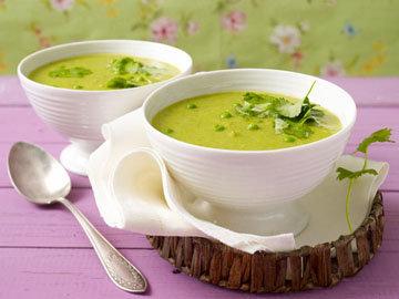 Готовый суп заправить