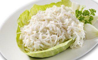 Рецепты для похудения. Салат из капусты белокочанной