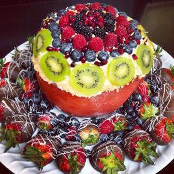Если вы попробуете этот праздничный торт хоть один раз - вы его полюбите