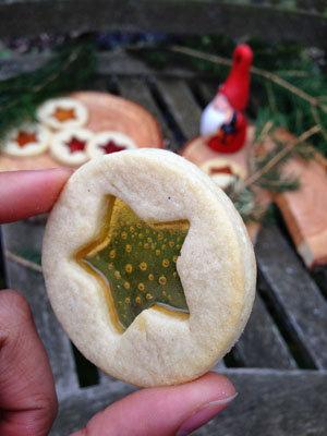 Печенье Зимние окна порадует всю семью