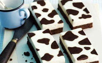 Рецепты для детей. Пирог шоколадный - рецепт с молочным кремом Коровка